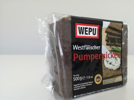 WK-West-Pumpernickel -pane segala nero tipico